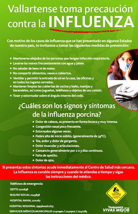 Puerto Vallarta flu alert