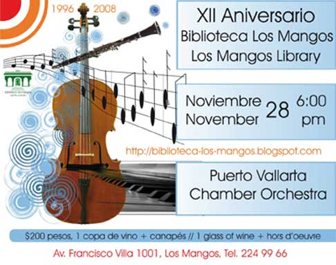 Los Mangos Library Anniversary