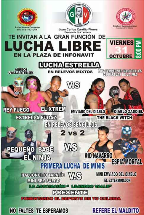 lucha libre in Puerto Vallarta