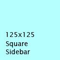 125x125 Square Sidebar