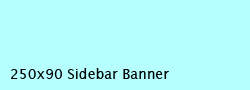 250x90 Sidebar Banner