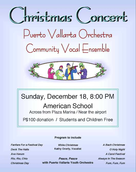 Christmas Concert – PV Orchestra and Vocal Ensemble