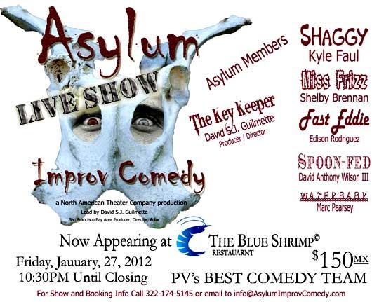 asylum improv comedy show
