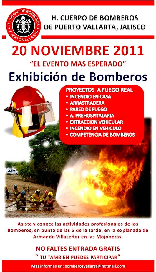 Puerto Vallarta Bombero Exhibition