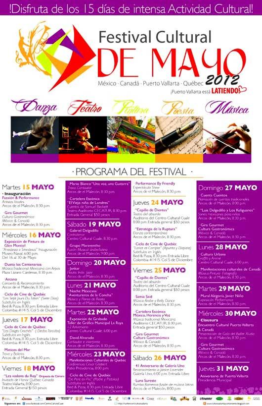 Puerto Vallarta Festival Cultural Mayo 2012