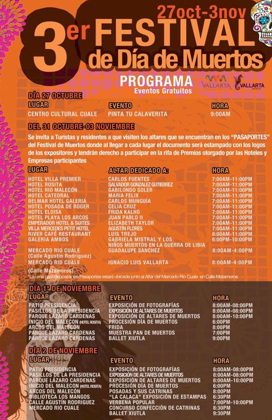 Dia de Muertos 2012 Program