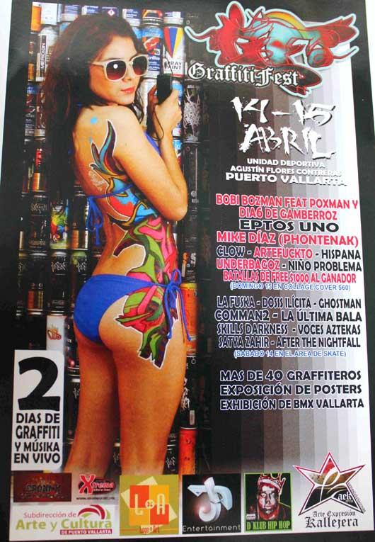 Puerto Vallarta Graffiti Fest