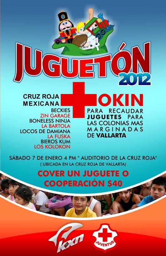 2012 Cruz Roja Jugueton