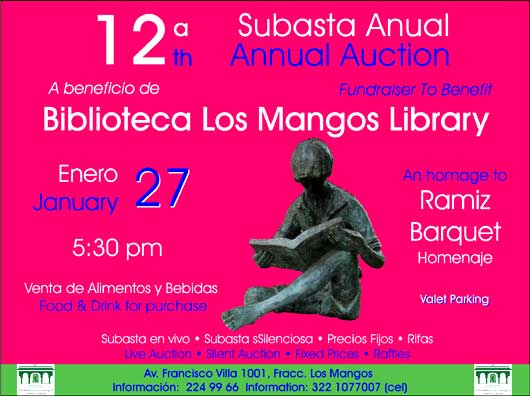 12th annual Los Mangos Auction