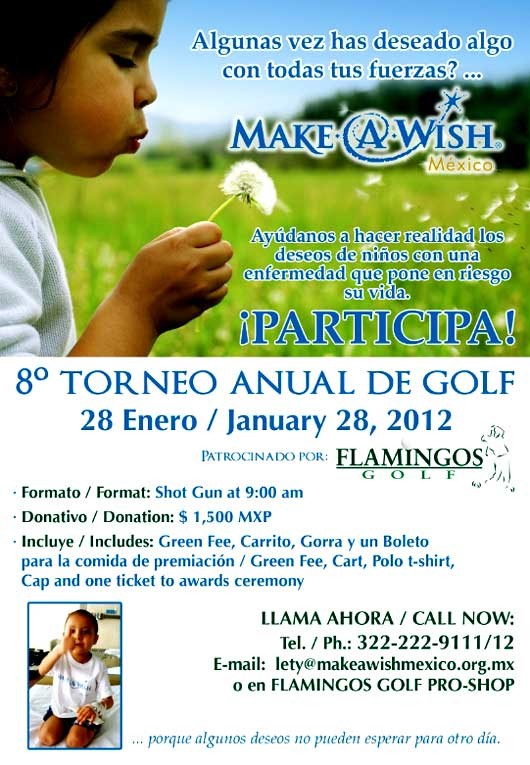 Vallarta Make a Wish Golf Tournement