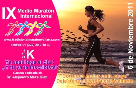 Vallarta medio maraton XI