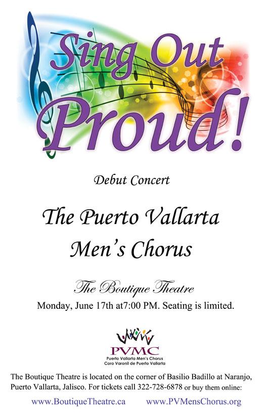 Men's Chorus Debut Concert