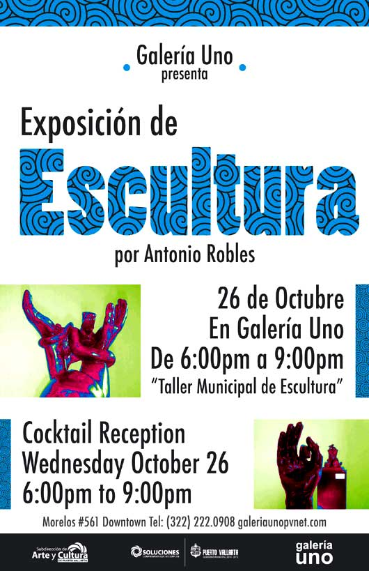Antonio Robles Sculpture Exhibition
