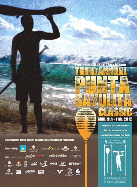 3rd Annual Punta Sayulita Longboard & Stand-Up Paddle Classic