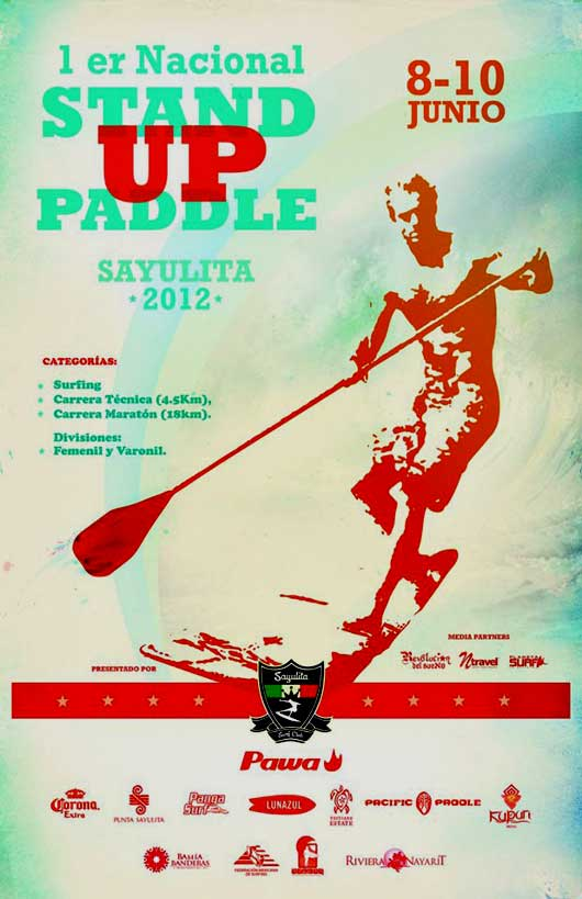 Stand Up Paddle Torneo, Sayulita 2012