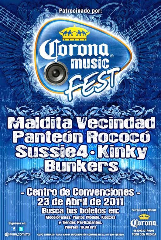 CORONA MUSIC FEST puerto vallarta