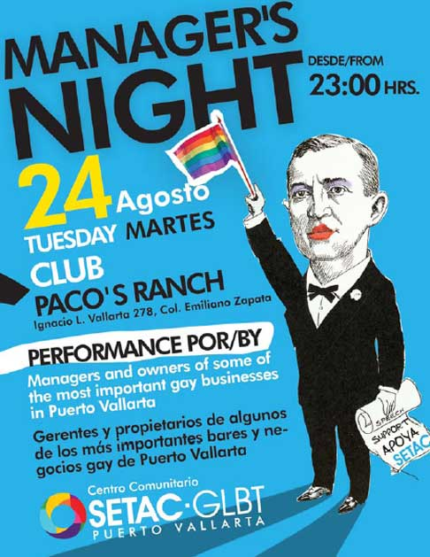 gAY cLUB mANAGERS NIGHT