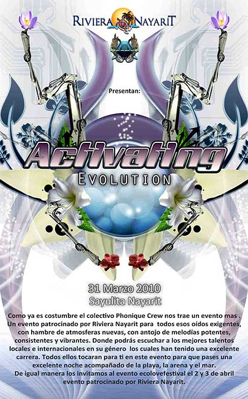 Activating Evolution Rave » March 31, Sayulita