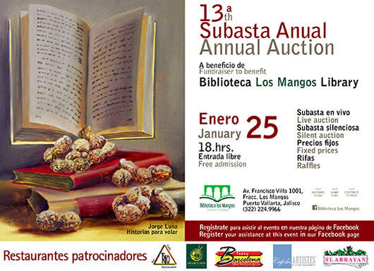 13th Annual Los Mangos Benefit Auction