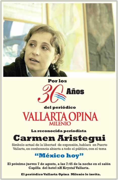 Carmen Aristegui August 7