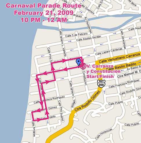 Vallarta Carnaval Parade