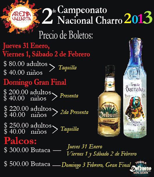 "2nd Campeonato Nacional ""Arena Vallarta 2013"""
