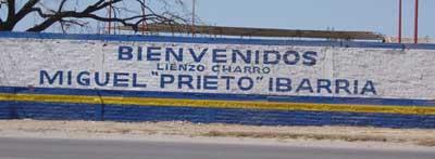 """Lienzo Charro Miguel """"Prieto"""" Ibarría"""