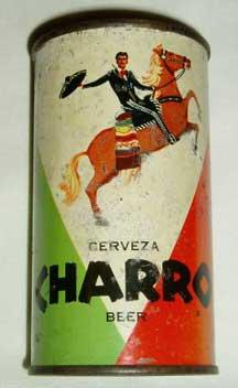 Charro Beer Can