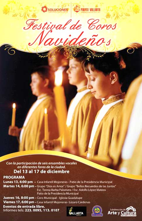 Chorus Navideños » December 13 to 17