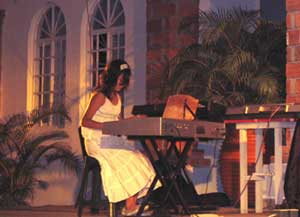 Vallarta keyboard student