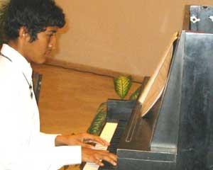 Vallarta Piano Student