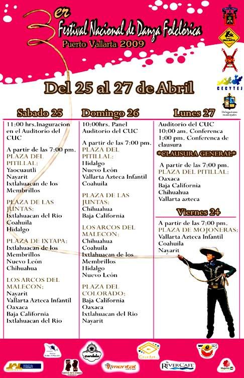 dance festival schedule