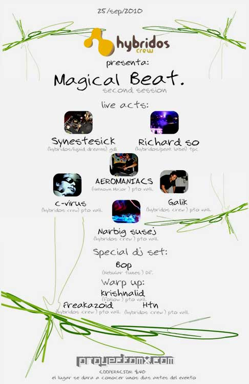 Magical Beat Rave » September 25