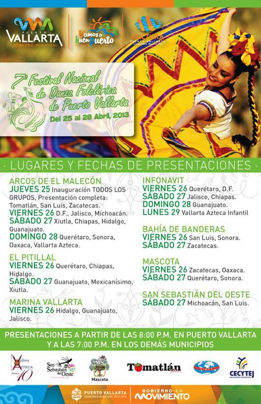 Vallarta folkloric dance festival