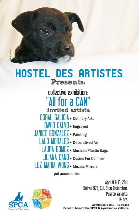 hostel des artistes art for dogs