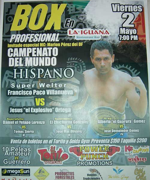 Boxing at La Iguana