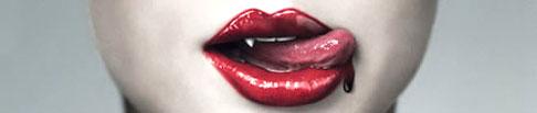 blood lips