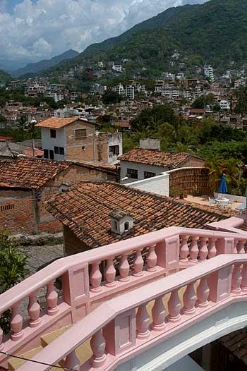 Pink Bridge at Casa Kimberly