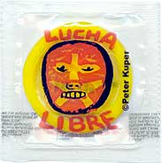 Lucha Libra Condom