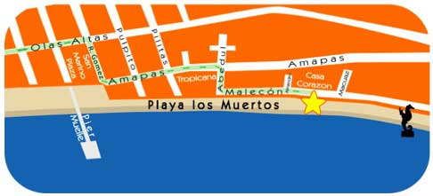 Ritmos Beach Cafe Map