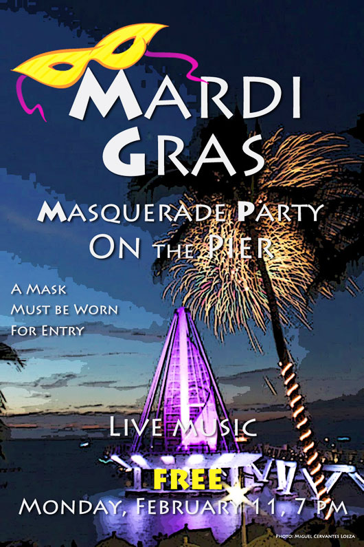 Mardi Gras Pier Party