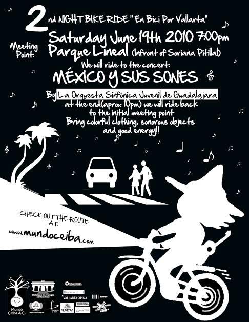 En Bici por Vallarta 2do Paseo Nocturno