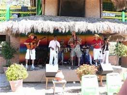 Ritmos Beach Cafe Palapa Stage