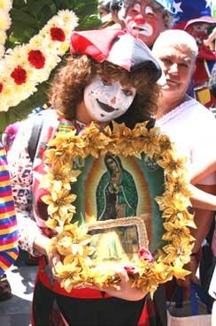 Payaso y Guadalupe