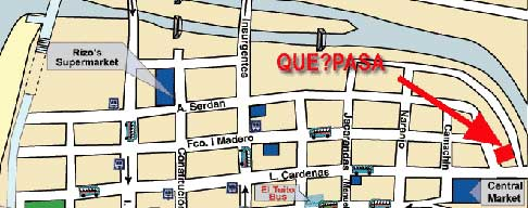 QuePasa Map