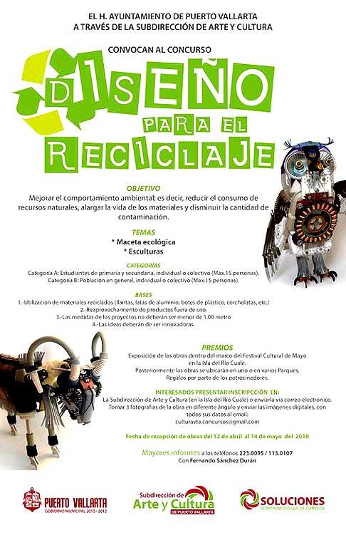 2010 Vallarta Recycle Art Contest