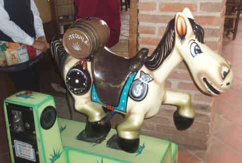 tequila rockinghorse