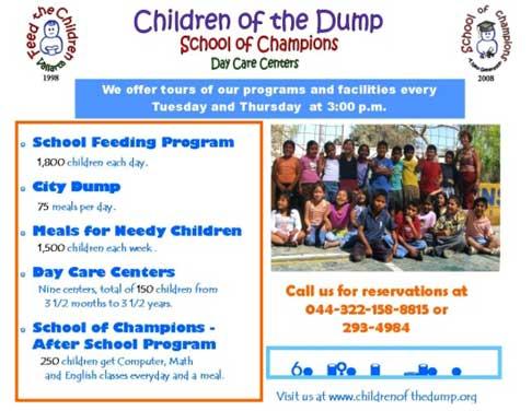 Children of the dump tour poster